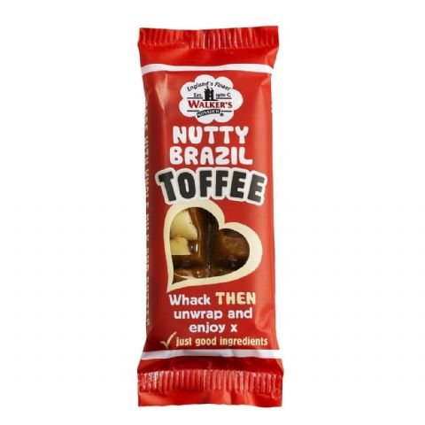 Nutty Brazil - Walker's Nonsuch Toffee Bar 50g